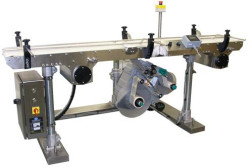 Split Belt Bottom Labeller